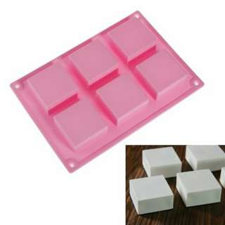 Soap Moulder (6 Square Cavity)