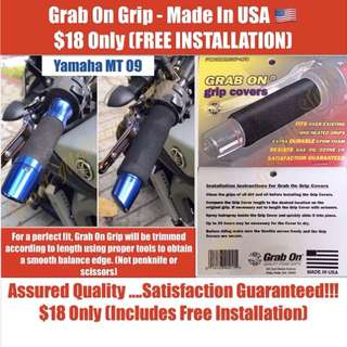 FREE INSTALLATION !!! Grab On Grip - Made In USA 🇺🇸 $18 Only (Not puppies)