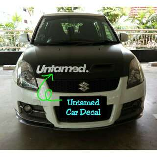 Untamed Decal For Vehicle