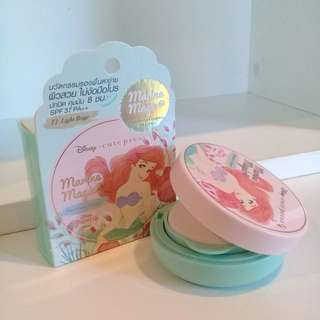 🚚 Cute press小美人魚聯名限量控油氣墊粉餅