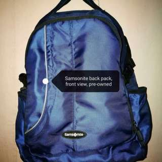 Samsonite Bagpack