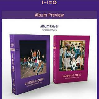 [WTB] Wanna One Repackage Album One version