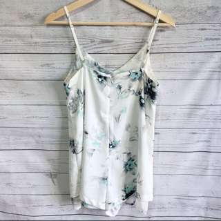Floral Playsuit Size S