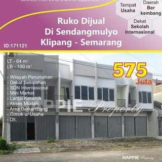 Ruko Sendangmulyo Klipang Smg
