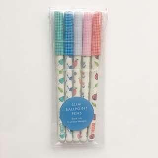 New Kikki K 5 Pens Set