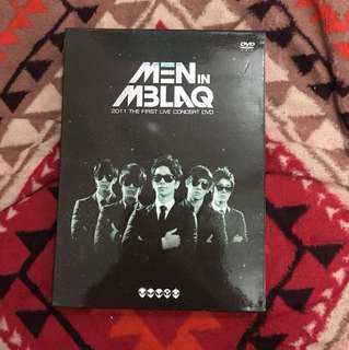 MBLAQ 2011 The First Live Concert DVD