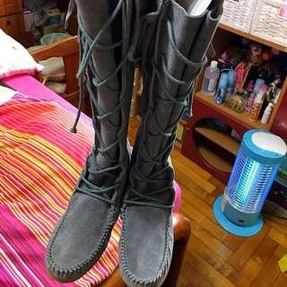 🚚 (降價中)Ophelie 灰色靴子