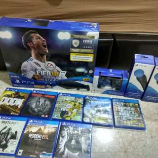 ps4 new,psvr,game,controler ps4 new,psmove