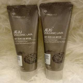 The Face Shop Jeju Volcanic Lava Pore Cleansing Foam 150ml
