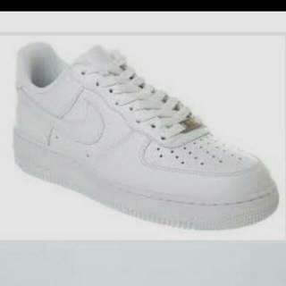 Nike Air Force 1 White (READY FOR COLLECTION)