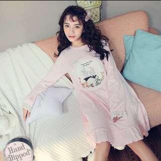 日系💕超可愛兔兔🐰睡裙 預購