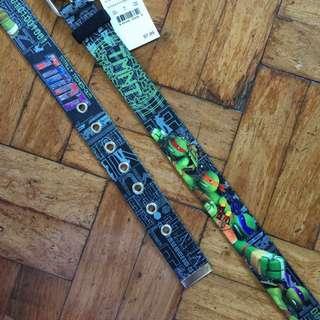 Imported Ninja Turtles Kids Belt