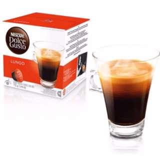 降💥Nescafé Dolce Gusto 美式濃黑咖啡膠囊 只有3盒~2017/11/30