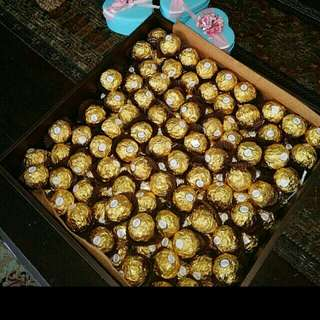 Ferrero Rocher 100pcs-$30 gold label intact