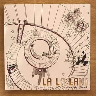 La La Land Colouring Book