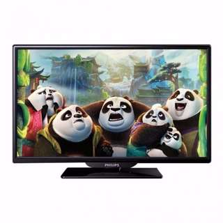 "Philips 24PHA4100 24"" Slim LED TV. 1 Year International Warranty. Brand New TV."