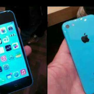 Iphone 5c 16GB blue perfect condition