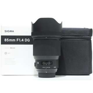 Sigma 85mm f1.4 DG HSM Art Lens (Nikon Mount)