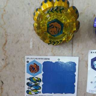 Closeer look at the Limited Edition Beyblades