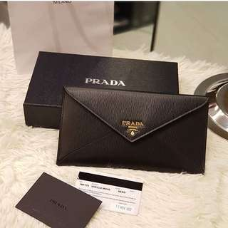 Prada 1MF Envelope Wallet