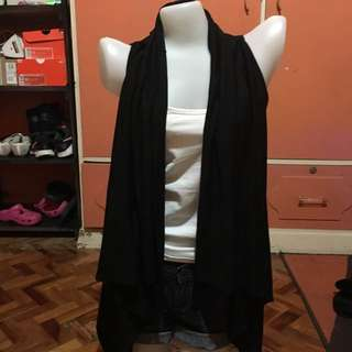 Blazer cover up black FREE size