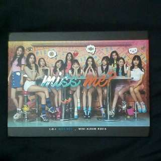 (WTS FAST) RARE! IOI miss me? INCLUDE POSTAGE