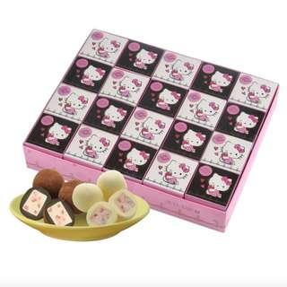 (含運)【Hello Kitty】草莓果巧克力禮盒