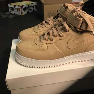 Nike Air Force vachettae tan