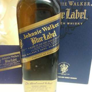 Johnnie Walker Blue label 尊尼獲加藍牌 750ml