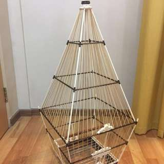 Handmade 15 sticks Jambul Cage