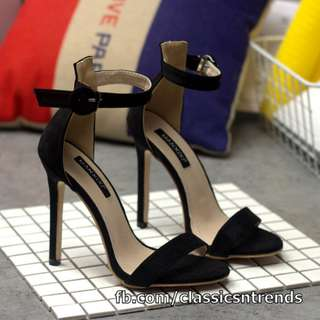 CLASSY FIND! Ankle-strap Stiletto Sandals