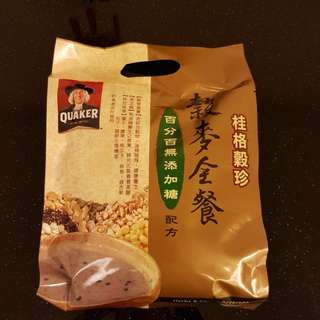 正貨台灣桂格無添加糖穀麥全餐,購自台灣