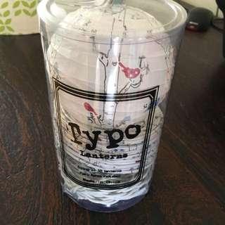 Typo paper lucky lanterns