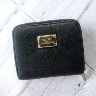 Small black wallet preloved dompet kecil