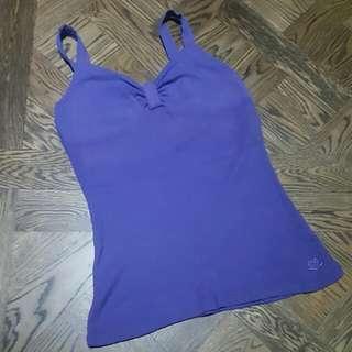 Purple Sweetheart Top