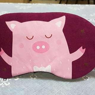 🚚 豬圖樣眼罩