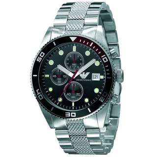 Emporio Armani Sports Collection Stainless Steel AR5855