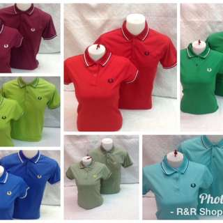 Fred Perry Couple's Polo Shirt