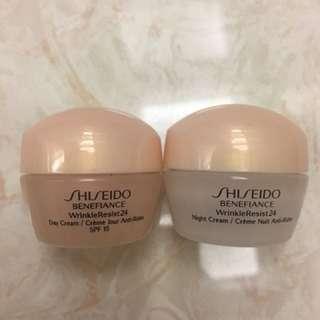 Shiseido empty case 2tube kecil