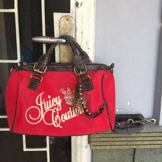 Juicy couture bag free pouch