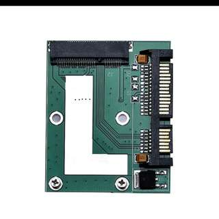 Brand new mSATA SSD To 2.5Inch SATA 6.0 Gps Adapter Converter Card 1.81