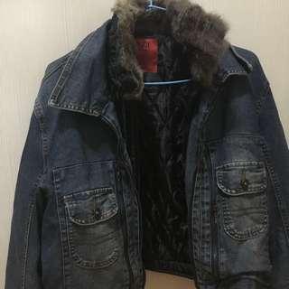 🚚 牛仔保暖外套