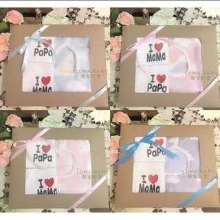 🚚 獨家現貨-寶寶新生兒純棉六層紗布彌月禮盒滿月禮盒-連帽包巾被蓋毯