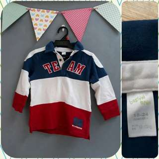 Bossini Longsleeves (18-24 mos)