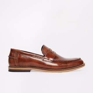🚚 ASOS Loafers in Leather 帆船鞋 英倫 休閒鞋 紳士 時尚 經典 英國 UK9