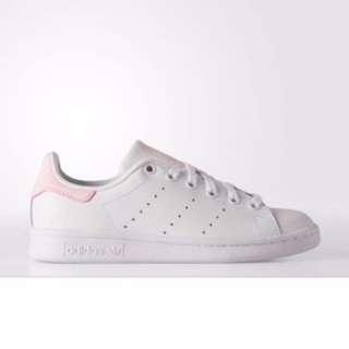 🚚 Adidas Stan Smith 粉紅色小白鞋 US 22.5