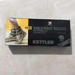 Kettler Nylon Ankle / Pemberat Kaki Kettler ORI Bending 2.5kg