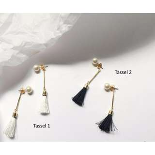 🎄XMAS SALE🎄 Korean Style Tassel Pearl Earrings