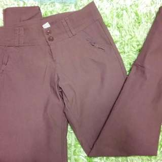 Brown Pants (stretchable)