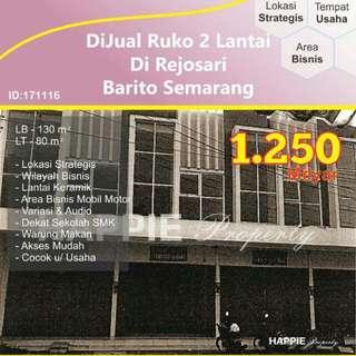 Ruko 2 Lantai Rejosari Barito Semarang